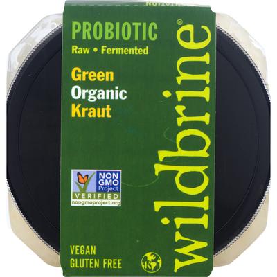 Wildbrine Kraut, Organic, Green