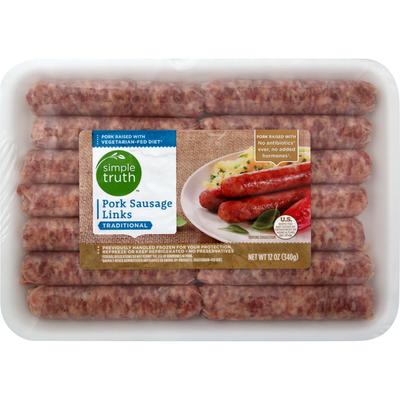 Simple Truth Sausage Links, Pork, Traditional
