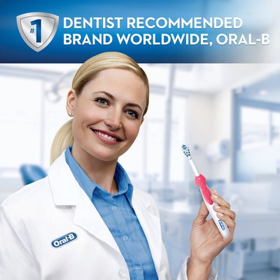 Oral-B Complete Deep Clean Battery Powered Electric Toothbrush