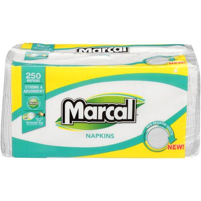 Marcal® 1-Ply  Marcal 1-Ply Paper Napkins