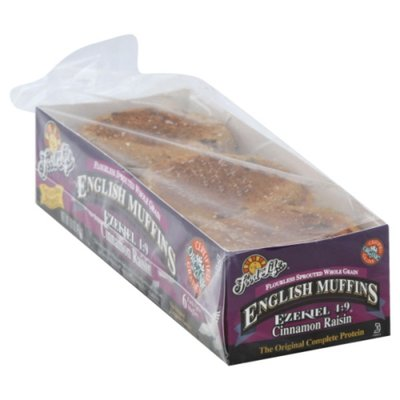 Food for Life Sprouted Organic Cinnamon Raisin English Muffins