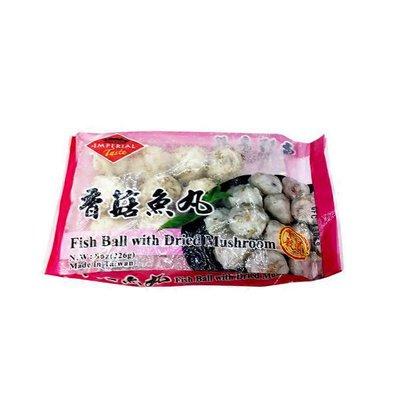 Fish Ball With Mushroom