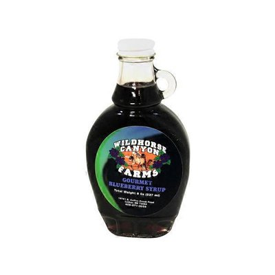 Wild Horse Blueberry Syrup
