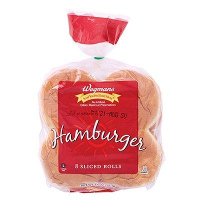 Wegmans Hamburger Rolls, 8 Pack