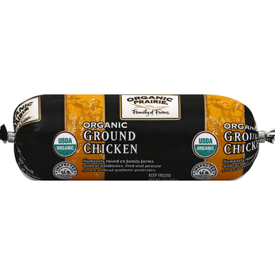 Organic Prairie Chicken, Organic, Ground