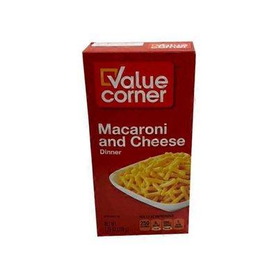 Value Corner Macaroni And Cheese Dinner