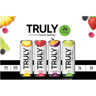 TRULY Hard Seltzer Variety Pack, Spiked & Sparkling Water