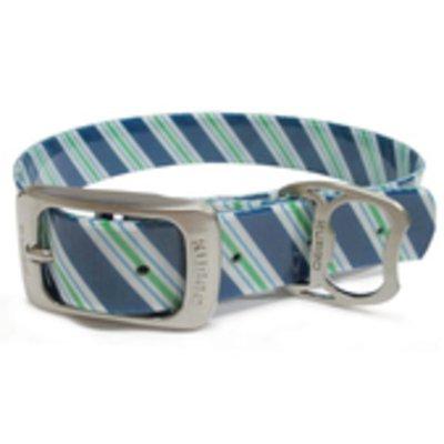 Kurgo Large Muck Collar Blue Stripe