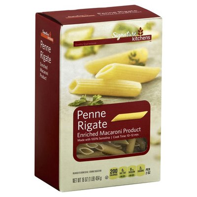 Signature Kitchens Enriched Macaroni Product, Penne Rigate