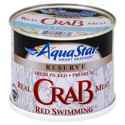 Aqua Star Crab Meat, Real, Red Swimming