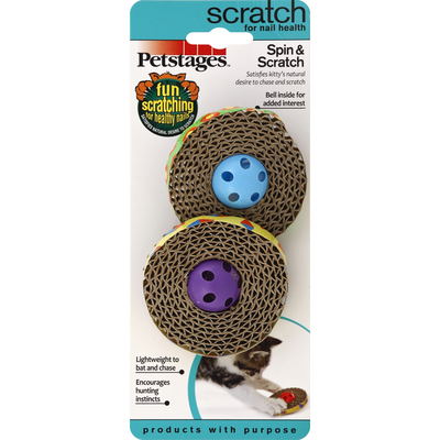 Petstages Spin & Scratch