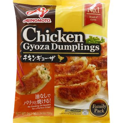Ajinomoto Gyoza Dumplings, Chicken, Family Pack
