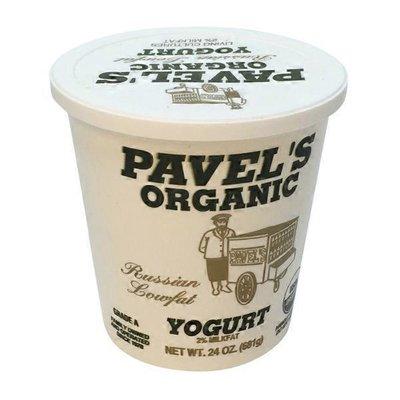 Pavel's Russian Lowfat Yogurt, 2% Milkfat Organic