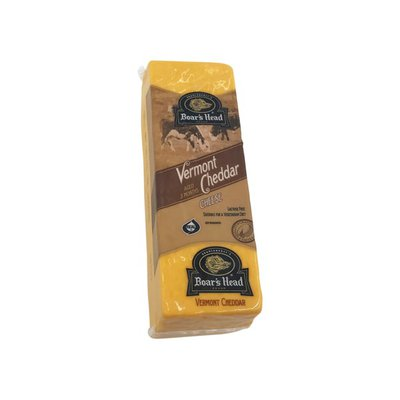Boar's Head Yellow Vermont Cheddar Cheese