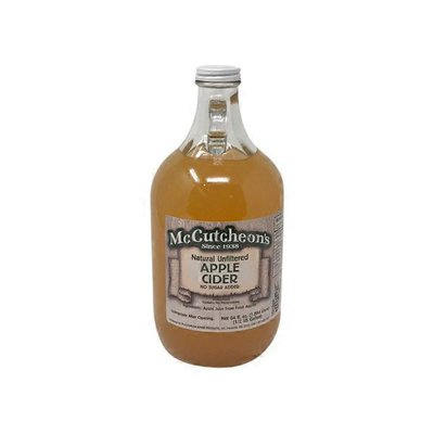McCutcheon's Natural Unfiltered Apple Cider No Sugar Added