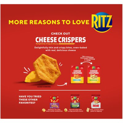Ritz Reduced Fat Crackers, 1 Box
