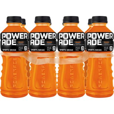 Powerade Orange, Ion4 Electrolyte Enhanced Fruit Flavored Sports Drink W/ Vitamins B3, B6, And B12, Replenish Sodium, Calcium, Potassium, Magnesium