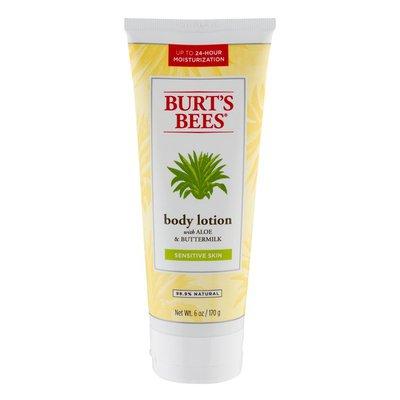 Burt's Bees Body Lotion With Aloe & buttermilk Sensitive Skin