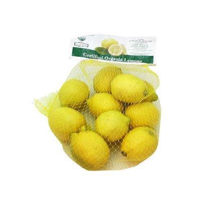Bag Of Organic Lemons