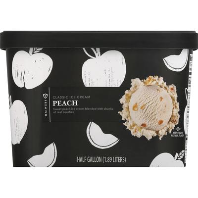 Publix Premium Ice Cream, Classic, Peach