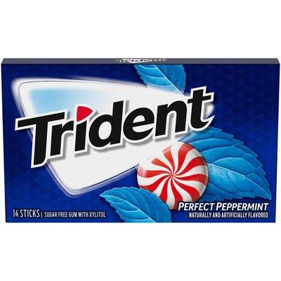 Trident Peppermint Sugar Free Gum