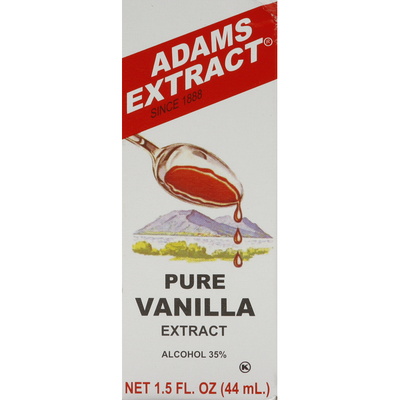 Adams Extract Vanilla Extract, Pure