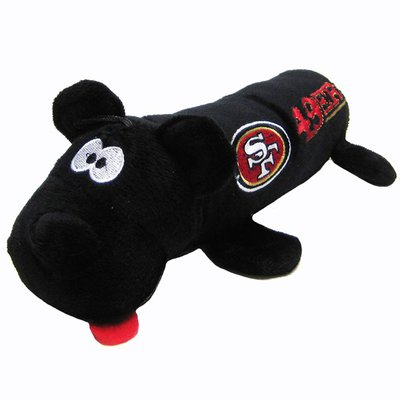 Pets First San Francisco 49ers Tube Toy