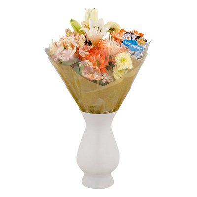 SB Toasted Coconut Flower Bouquet