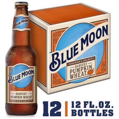Blue Moon Seasonal Collection Ale, Bottles