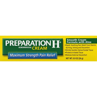 Preparation H Multi-Symptom Relief Hemorrhoidal Cream with Aloe