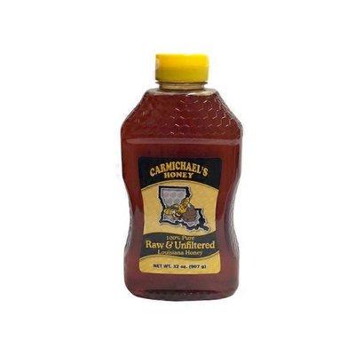 Carmichael's 100% Pure Raw & Unfiltered Louisiana Honey