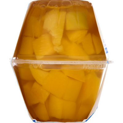 SB Diced Peaches, Yellow Cling, In Water