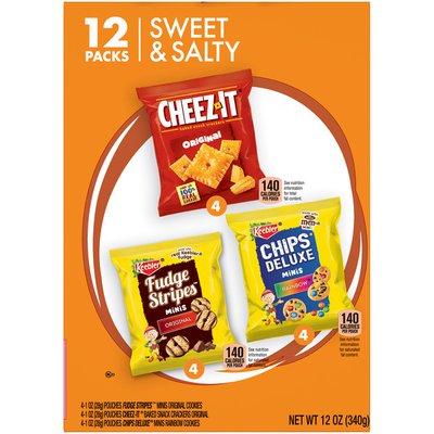 OTG Variety Packs Cookies and Crackers Variety Pack