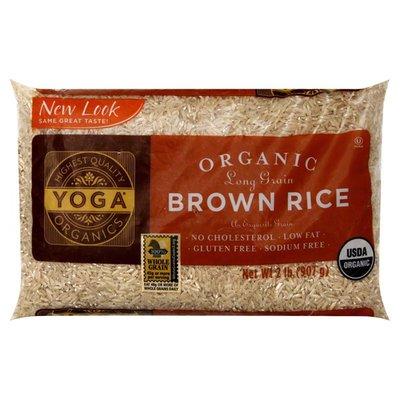 Yoga Brown Rice, Organic, Long Grain