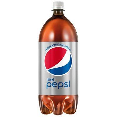 Pepsi Diet  Cola 2 Liter Plastic Bottle