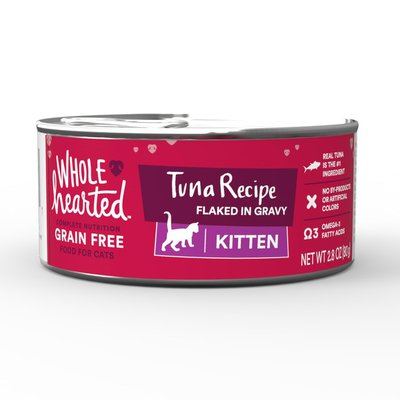 Whole Hearted Grain Free Tuna Recipe Flaked In Gravy Food For Cats