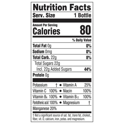 Glaceau Vitaminwater xxx, Electrolyte Enhanced Water W/ Vitamins, Açaiblueberrypomegranate Drinks