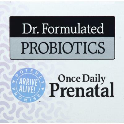 Garden of Life Probiotics, Once Daily Prenatal, Vegetarian Capsules