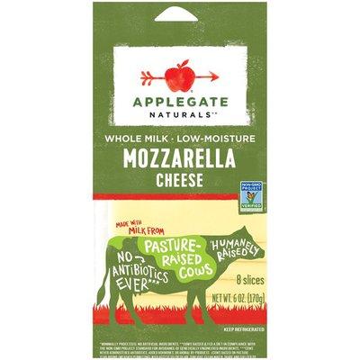 Applegate Mozzarella Cheese Slices