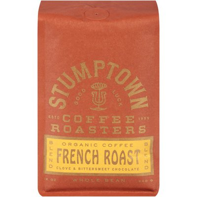 Stumptown French Roast Blend Clove & Bittersweet Chocolate Organic Coffee