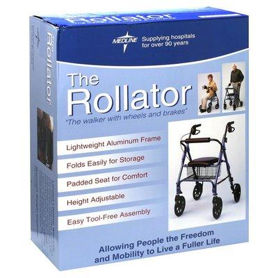 Medline Rollator Walker