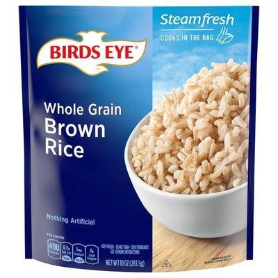 Birds Eye Selects Whole Grain Brown Rice