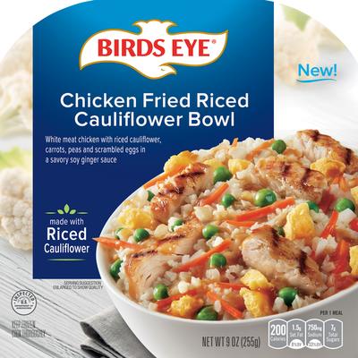 Birds Eye Chicken Fried Riced Cauliflower Bowl