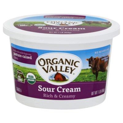 Organic Valley Organic Sour Cream