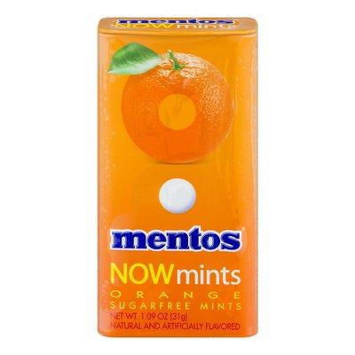 Mentos NOWmints Sugarfree Orange