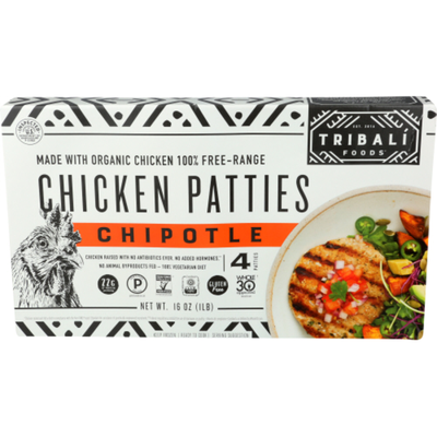 Tribali Foods Chipotle Chicken Patties