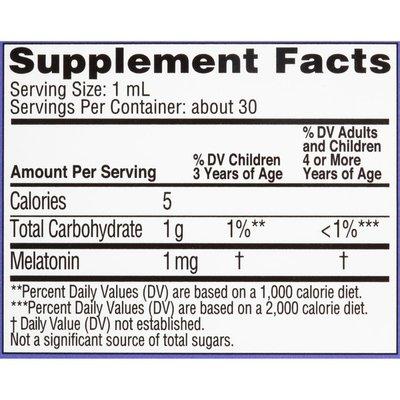 Zarbee's Naturals Children's Sleep Liquid with Melatonin, Natural Berry