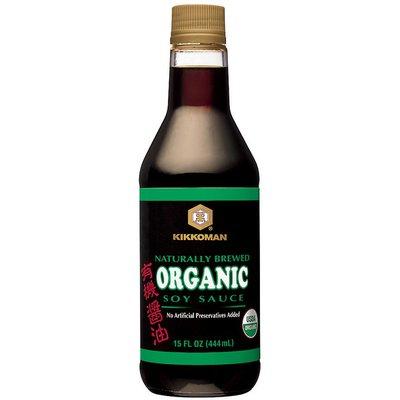 Kikkoman Organic Traditionally Brewed Kikkoman Organic Traditionally Brewed Soy Sauce
