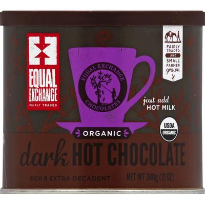 Equal Exchange Hot Chocolate, Organic, Dark