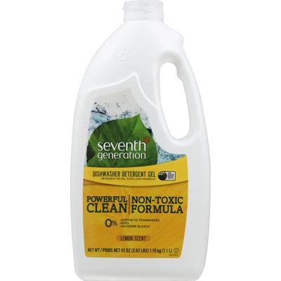 Seventh Generation Dishwasher Detergent Gel Lemon